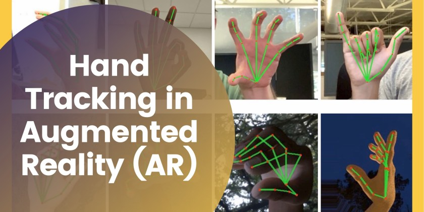 Hand Tracking in Augmented Reality (AR)
