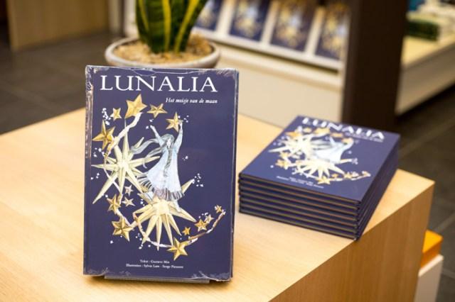 Lunalia Meisje van de Maan kinderboeken