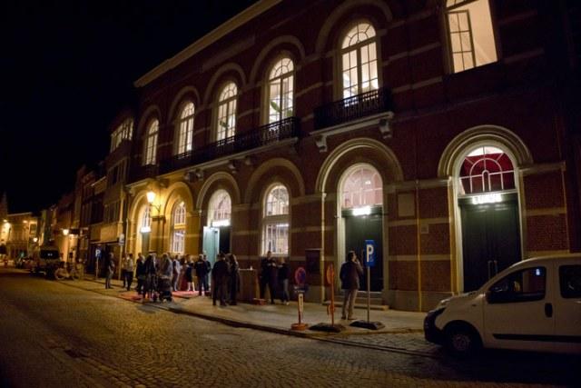 Oude stadsfeestzaal na renovatie en restauratie stadscinema Lumiere Mechelen