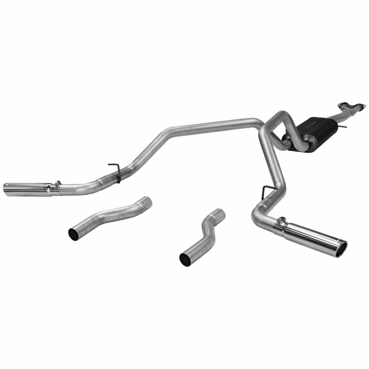 Flowmaster Exhaust System Kit Fits Gmc