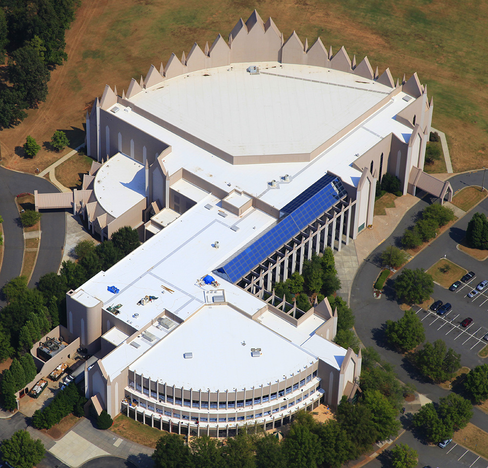 Calvary Church NC Mecklenburg Roofing