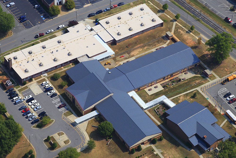 Lingerfeldt Elementary Mecklenburg Roofing