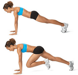 Image result for Knee-in-plank