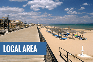 Local area and properties, costa blanca