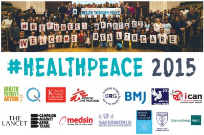 Health Through Peace - Medact - Title Image