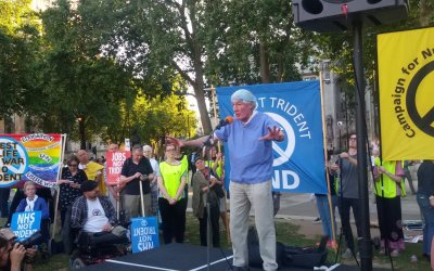 Dr Frank Boulton's speech at the CND Trident Renewal Protest