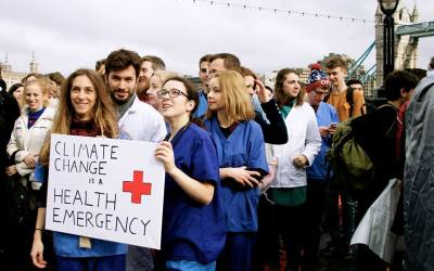 Climate change threatens to undo decades' worth of global health gains – but the health community can help to stop this
