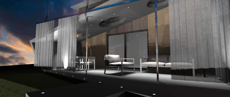 Een terrasoverkapping laten ontwerpen door Idee-m. Houd wind en regen op een afstand en creëer een aangenaam terras.