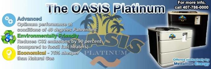 Oasis Platinum Pool Heat Pump