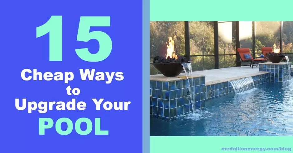 cheap ways to upgrade a pool pool improvements swimming pool renovation ideas