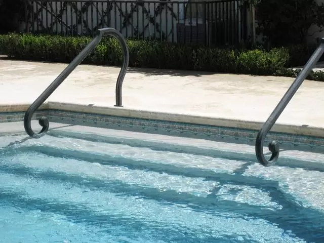 powercoat pool handrails cheap ways to upgrade pools improve your pool pool renovation ideas