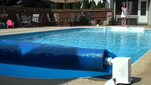 solar cover reel ways to automate pool maintenance