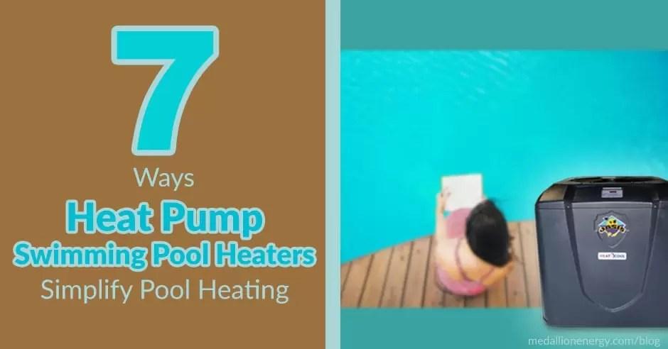 heat pump swimming pool heaters simplify pool heating pool heat pumps