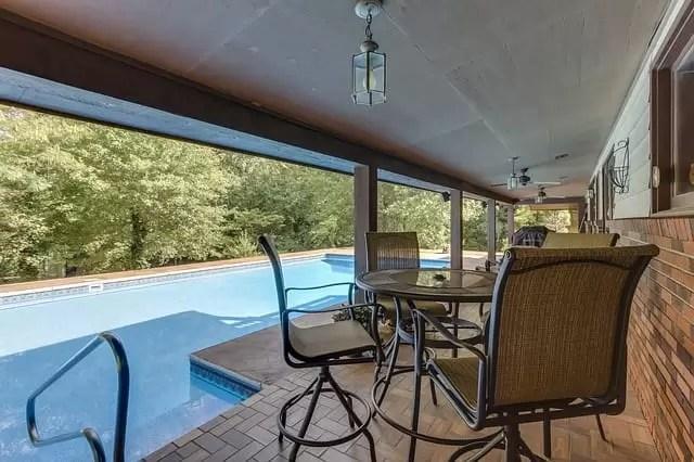 backyard swimming pool heat pump pool heater