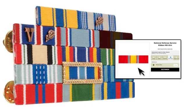 build your ribbon rack with us