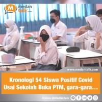 Kronologi 54 Siswa Positif Covid-19 Usai Sekolah Buka PTM, gara-gara