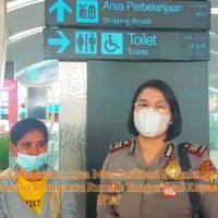 Seirang Wanita Datangi Polsek Medan Area, Minta dipulangkan ke NTT Polsek Medan
