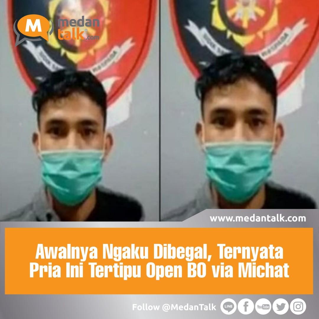 """Awalnya Ngaku Dibegal, Ternyata Pria Ini Tertipu Open BO via Michat . Seorang pria bernama Aulia Rafiqi (23) membuat laporan polisi palsu terkait dirinya menjadi korban begal di Banjir Kanal Timur, Pondok Kopi, Jakarta Timur.  Hasil pemeriksaan pelapor dan penyelidikan di lokasi yang telah dilakukan, terungkap Aulia Rafiqi memberikan keterangan palsu. Dari video yang diterima, Aulia Rafiqi mengungkap soal laporan palsunya tersebut.  """"Dengan ini menyatakan bahwa laporan yang saya buat di Polres Metro Jakarta Timur bahwa saya dibegal dan disetrum oleh orang yang mengaku polisi adalah bohong atau hoax,"""" kata Aulia dalam keterangan video yang diterima, Sabtu (9/10).  Aulia kemudian menjelaskan kronologis awal dari laporannya tersebut. Dia menyebut saat itu awalnya melakukan open booking online (BO) seorang perempuan lewat aplikasi MiChat.  Keduanya kemudian bertemu di sebuah apartemen di daerah Bekasi. Namun, kedua pihak kemudian berseteru karena adanya ketidaksesuaian tarif.  """"Kejadian yang sebenarnya terjadi adalah awalnya saya MiChat dengan seorang perempuan dan open BO di Apartemen Kemang View Bekasi lantai 9 kemudian terjadi cekcok karena tidak sesuai kesepakatan,"""" terang Aulia.  Dari cekcok tersebut, muncul teman-teman dari pihak perempuan. Handphone dan uang Aulia Rafiqi lalu diambil oleh para pelaku.  """"Akhirnya handphone dan uang saya diambil oleh temen-temen perempuan tersebut,"""" jelas Aulia Rafiqi.  Untuk diketahui kasus ini berawal dari pengakuan seorang pemuda asal Bogor, Aulia Rafiqi (23), yang mengaku ditodong celurit hingga disetrum kawanan begal di BKT Pondok Kopi, Jakarta Timur. ."""