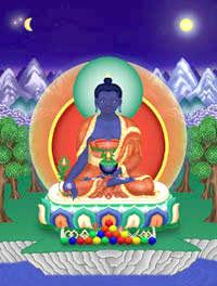 Bouddha Bleu