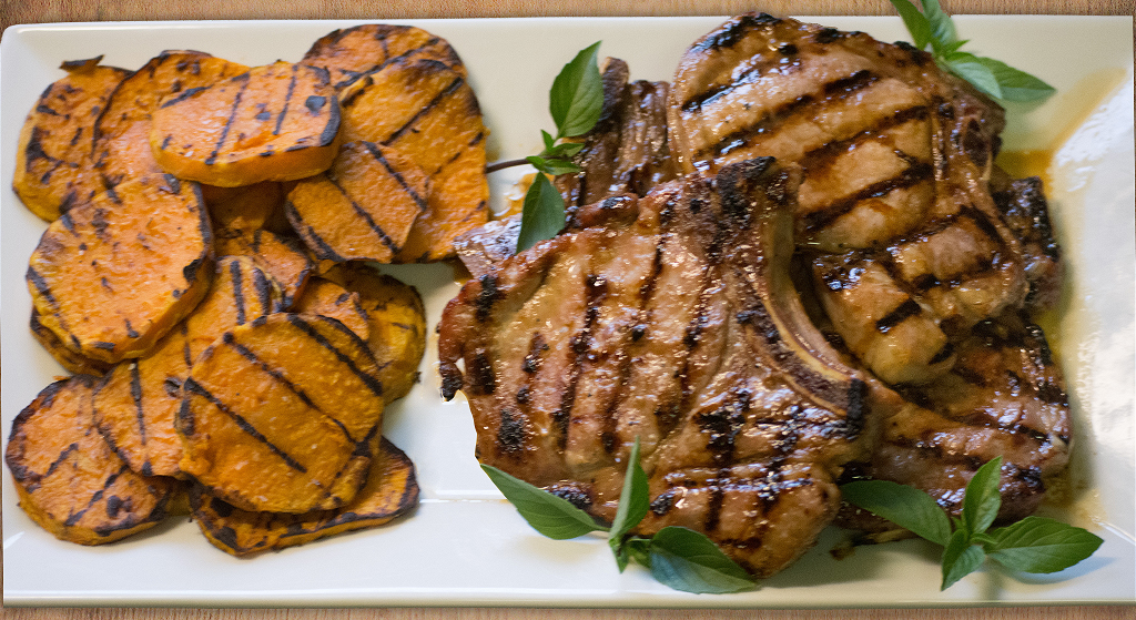 Grilled Vietnamese Pork Chops