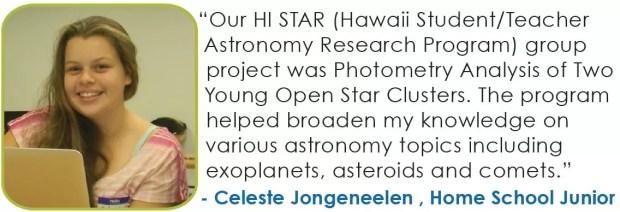 Focus Maui Nui Hawaii Student Teacher Astronomy
