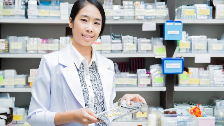 wmen pharmacist, jobs in research