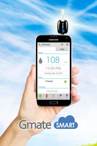 glucose monitoring app for smart phone