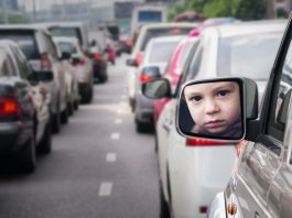 Children exposed to high levels of traffic-related air pollution have a higher risk of developing asthma.