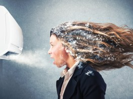 Health risks of air conditioning