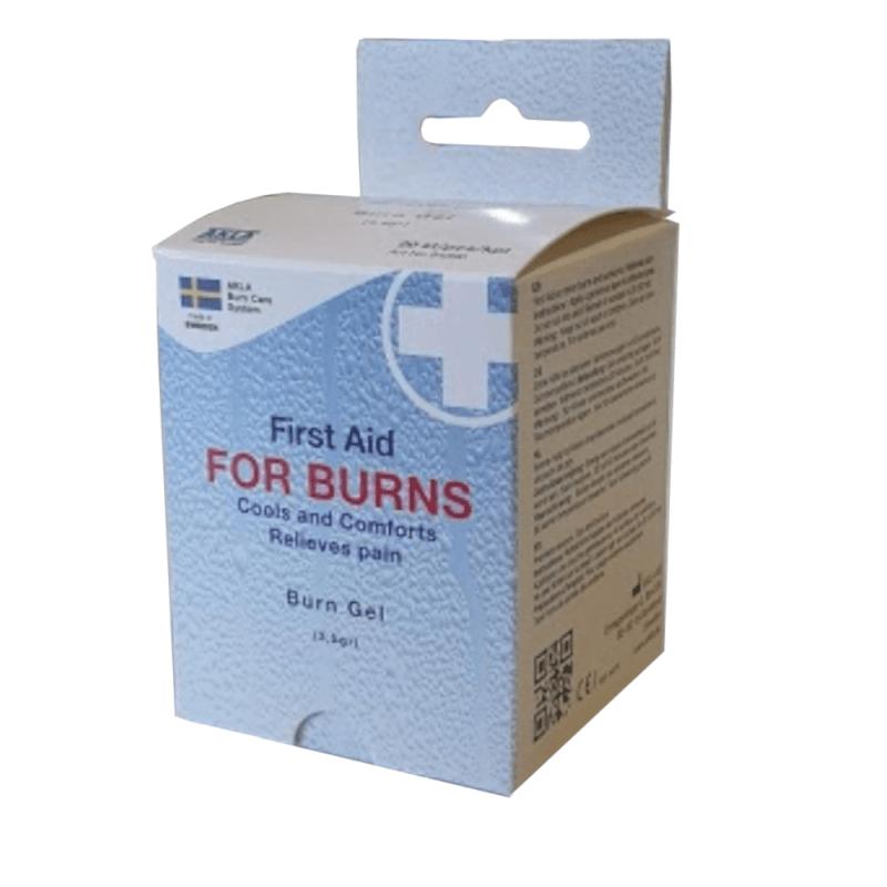 Palovammageeli For Burns 3.5 g, palovammojen ensiapu