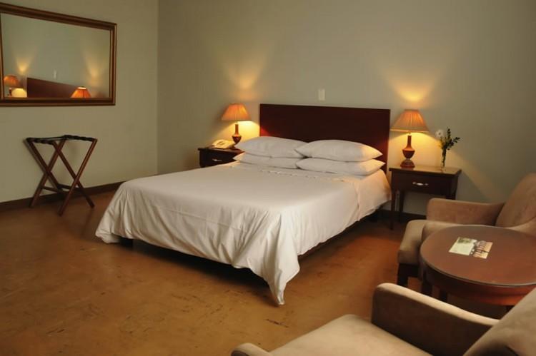 Standard double room in hotel (photo by Hotel Nutibara)