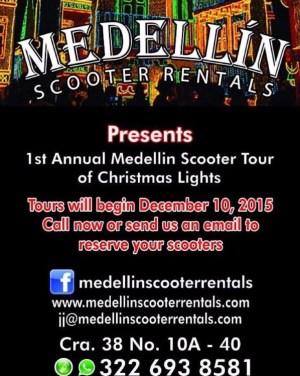 Medellín Scooter Rentals