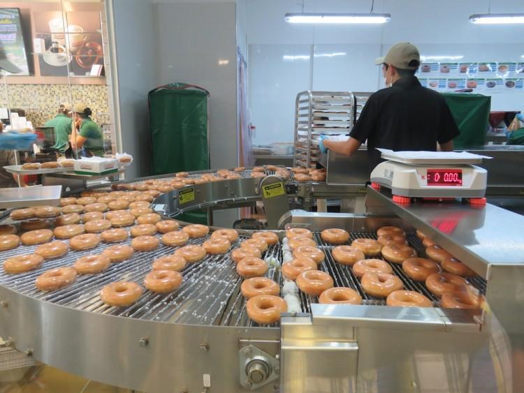 The Krispy Kreme Donut Manufacturing Machine