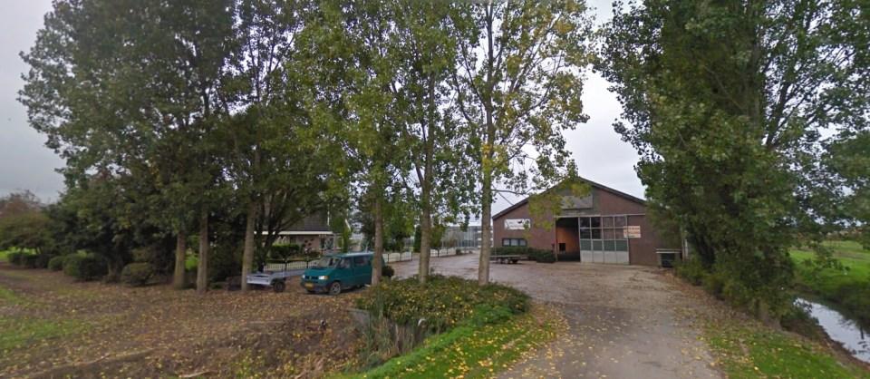 De bewuste plek aan De Ruil 9 in Wervershoof (Foto: GoogleMaps)