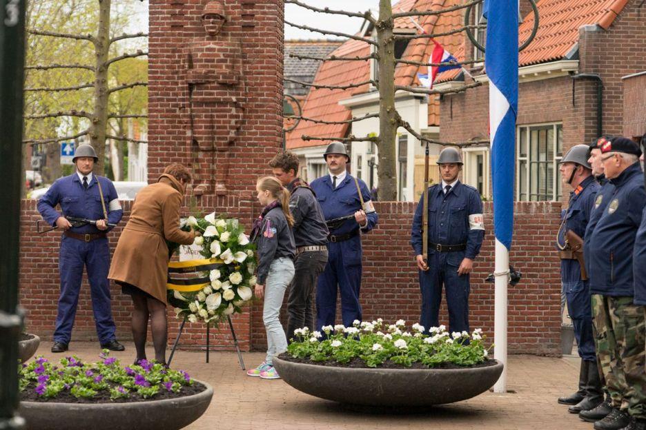 Dodenherdenking in Medemblik (Foto: Pascal van As)
