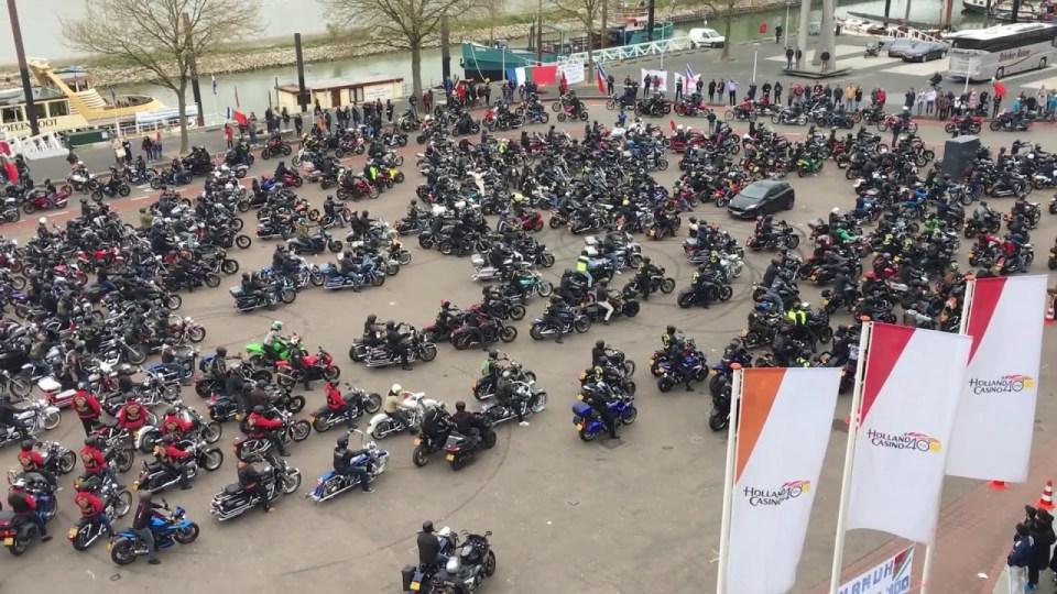Archieffoto van de Peringatan Ride Out 2017