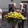 Edith van de Bovenkamp en Wil Zwart zorgen voor 'Freedom Flame Tulp'