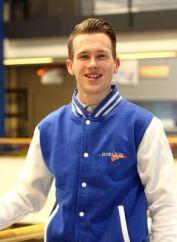 Robin Berkhout maakt kans om Nederlands kampioen timmeren te worden (Foto: Rob Duin)