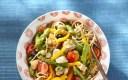 Wat eten wij vandaag: Spaghetti met kip en asperges