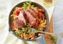 Wat eten wij vandaag: Couscous met biefstuk en paprika