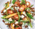 Wat eten wij vandaag: Salade met zomergroenten met gyros