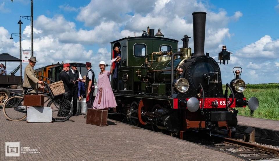 Een zomer vol activiteiten op Tramstation Wognum. Foto: Benno Ellerbroek