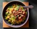 Wat eten wij vandaag: Shoarma met prei en couscous