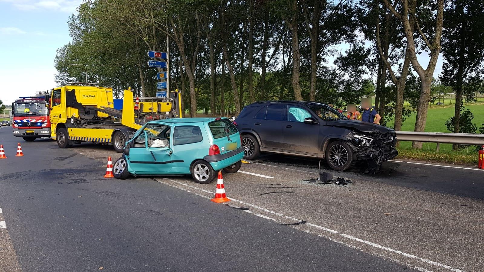 Medemblik Actueel Gewonden Bij Ongeval Wognum Afrit A7 Wognum Tijdelijk Afgesloten Voor Al Het Verkeer