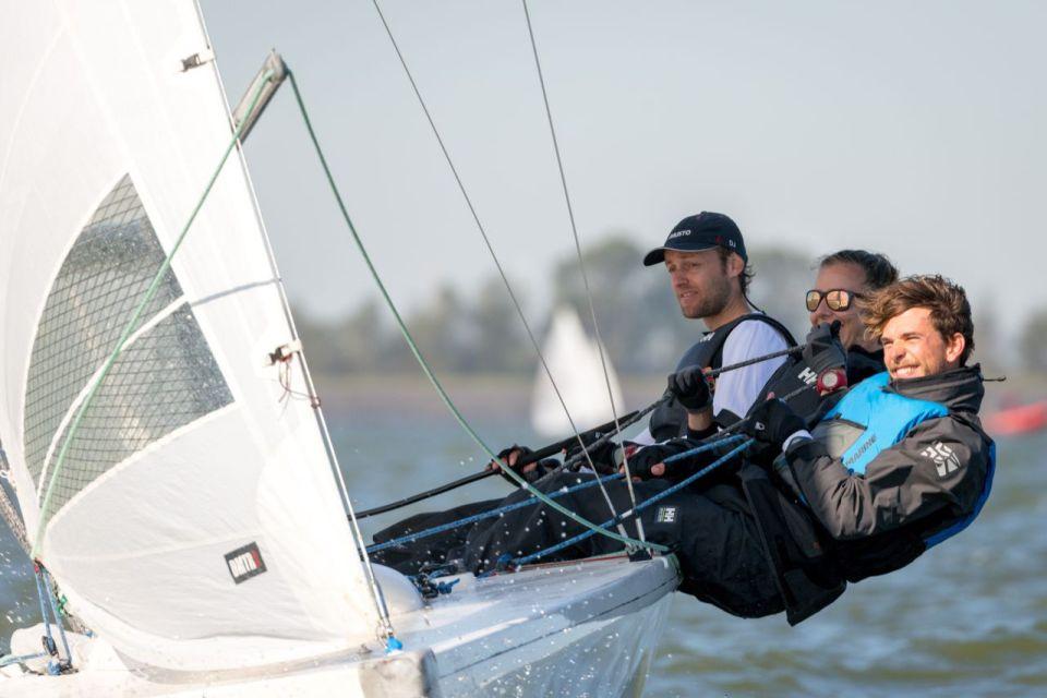 foto: vlnr D.J. Korpershoek, Sebastiano Grazzi en Arianne van de Loosdrecht