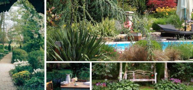 A romantikus kerttől nem idegenek a kerti medencék