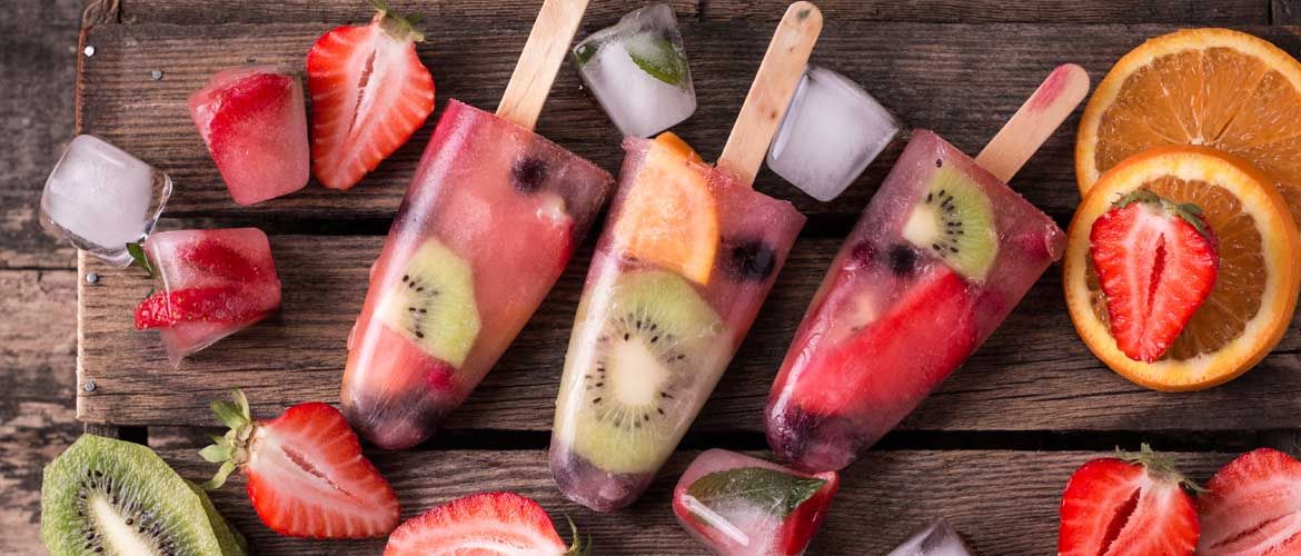 popsicles made from fresh fruit