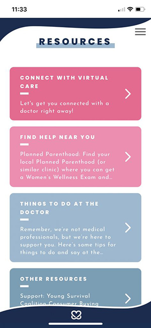 Keep A Breast Foundation and Carbon Health Partner on Self-Check App 10