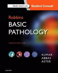 Book Cover: Robbins Basic Pathology