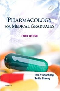 Book Cover: Shanbhag Pharmacology PDF